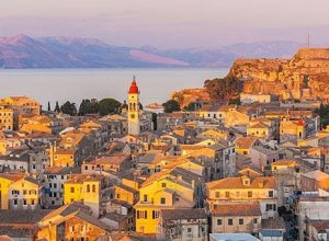 The cosmopolitan and world-famous island of Corfu
